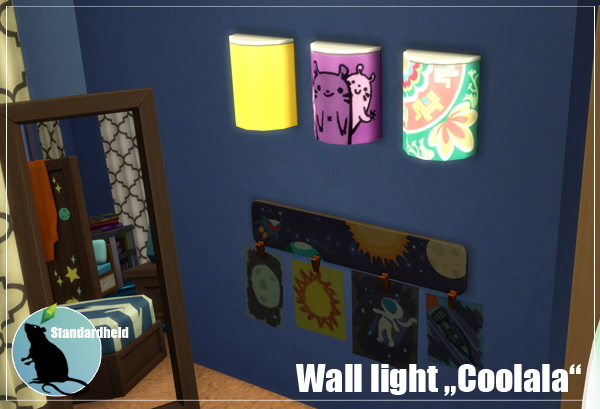 Coolala Wall Light at Standardheld image 25112 Sims 4 Updates