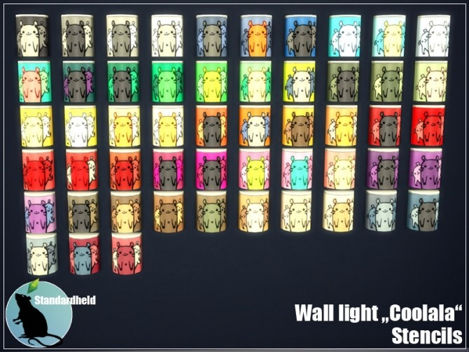 Sims 4 Coolala Wall Light at Standardheld