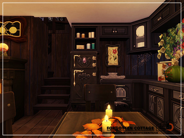 Sims 4 Forgotten cottage by Danuta720 at TSR