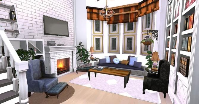 Sims 4 Cozy English House at HoangLap's Sims