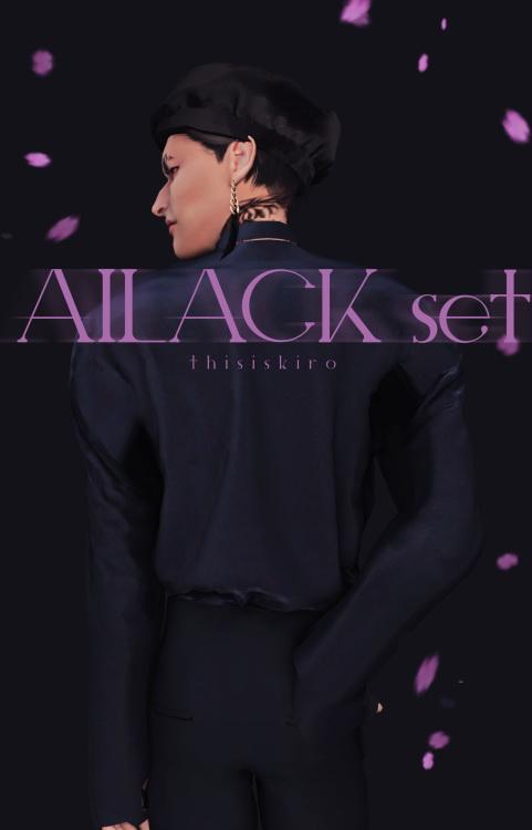 Sims 4 Ailack set at Kiro