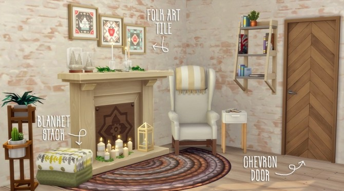 Sims 4 A Touch of Hygge at Hamburger Cakes