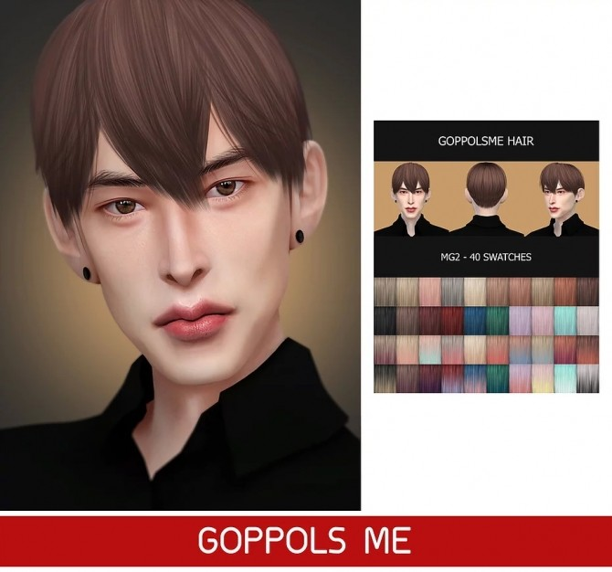 GPME HAIR MG2 at GOPPOLS Me image 2801 670x626 Sims 4 Updates