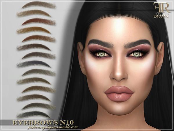 FRS Eyebrows N10 by FashionRoyaltySims at TSR image 2814 Sims 4 Updates