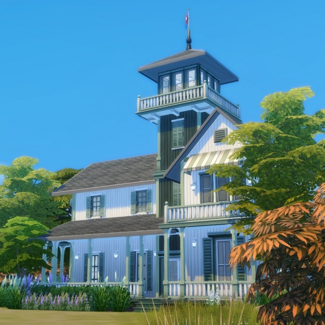 Sims 4 Smaller Rustic Siding Timber Baton Siding in 50 colours at Simsational Designs