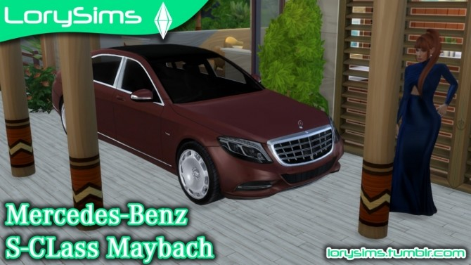 Mercedes Benz S600 Maybach at LorySims image 2843 670x377 Sims 4 Updates
