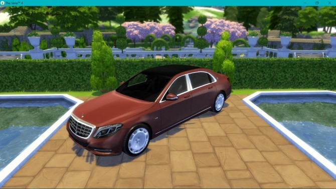 Mercedes Benz S600 Maybach at LorySims image 2882 670x377 Sims 4 Updates