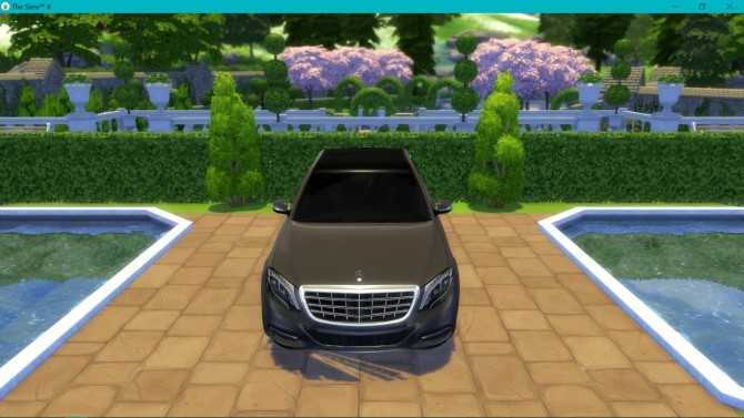 Mercedes Benz S600 Maybach at LorySims image 2892 670x377 Sims 4 Updates