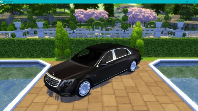 Mercedes Benz S600 Maybach at LorySims image 2902 670x377 Sims 4 Updates