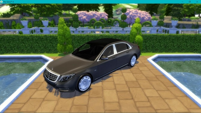 Mercedes Benz S600 Maybach at LorySims image 29210 670x377 Sims 4 Updates