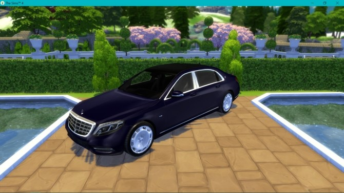 Mercedes Benz S600 Maybach at LorySims image 2932 670x377 Sims 4 Updates