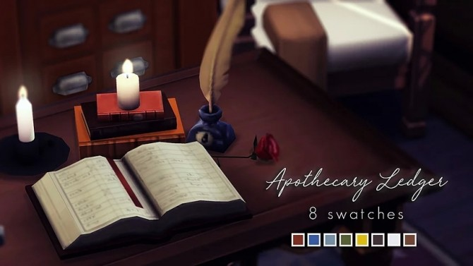 Sims 4 Apothecary Ledger at Magnolian Farewell