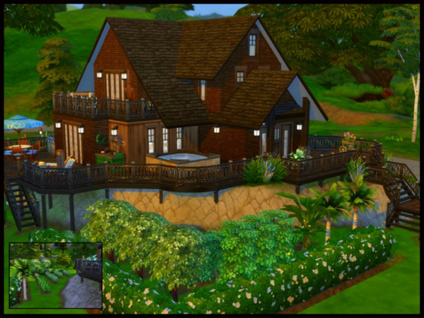 On The Lake house by sparky at TSR image 3 Sims 4 Updates