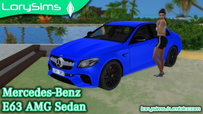 Mercedes Benz E63 AMG at LorySims image 3072 670x377 Sims 4 Updates