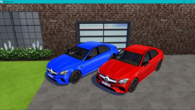 Mercedes Benz E63 AMG at LorySims image 3108 670x377 Sims 4 Updates
