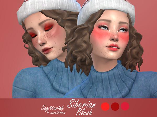 Sims 4 Siberian Intense Blush by Sagittariah at TSR