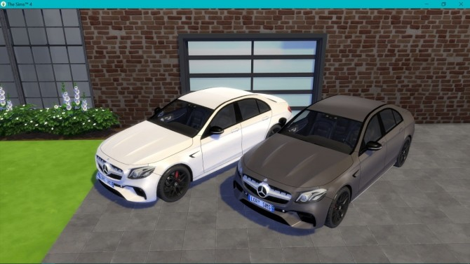 Mercedes Benz E63 AMG at LorySims image 3129 670x377 Sims 4 Updates