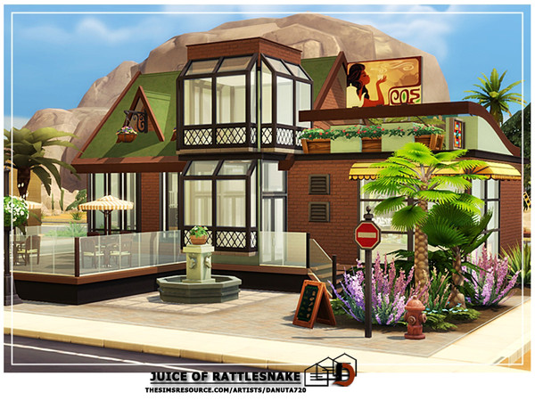 Sims 4 Juice of rattlesnake by Danuta720 at TSR