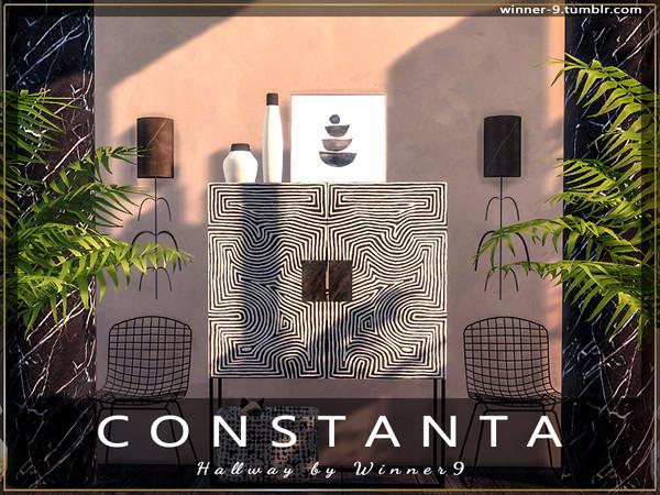 Sims 4 Constanta hallway by Winner9 at TSR