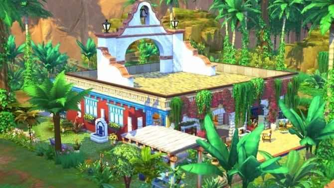 Sims 4 Mata jungle house by Bloup at Sims Artists