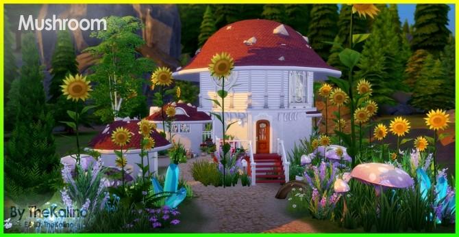 Mushroom Home at Kalino image 329 670x347 Sims 4 Updates