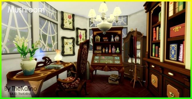 Mushroom Home at Kalino image 331 670x347 Sims 4 Updates