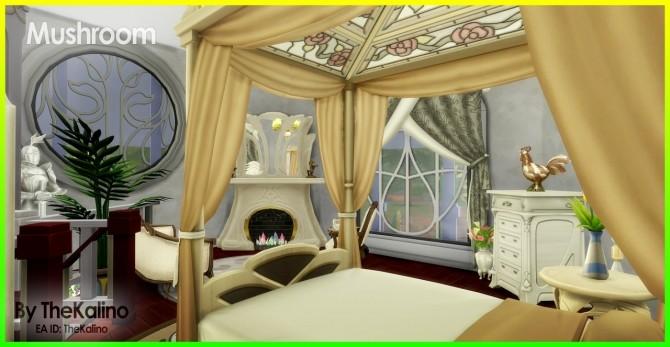 Sims 4 Mushroom Home at Kalino