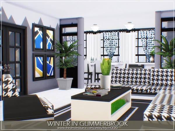 Sims 4 Winter In Glimmerbrook house by MychQQQ at TSR