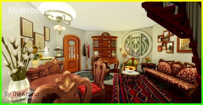 Mushroom Home at Kalino image 333 670x347 Sims 4 Updates