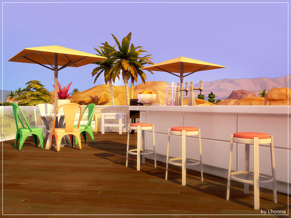 Sims 4 New Rose contemporary house by Lhonna at TSR
