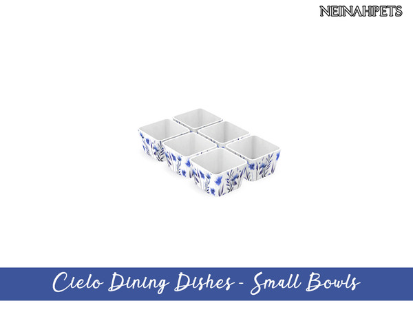Cielo Dining Dish Collection by neinahpets at TSR image 3418 Sims 4 Updates