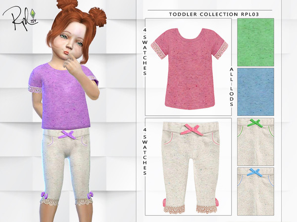 Toddler Collection RPL03 by RobertaPLobo at TSR image 3524 Sims 4 Updates