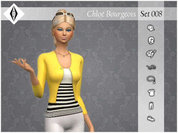 Sims 4 Chloe Bourgeois Set008 by AleNikSimmer at TSR