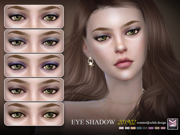 Sims 4 Eyeshadow 201902 by S Club LL at TSR