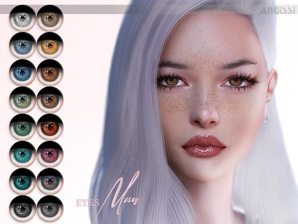 Sims 4 MISA eyes by ANGISSI at TSR