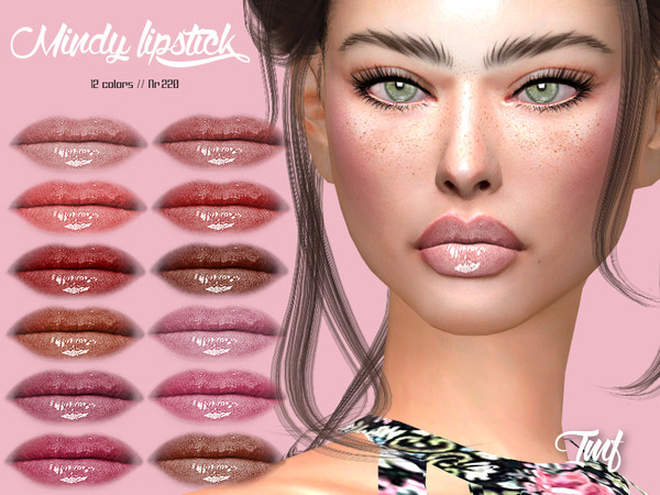 Sims 4 IMF Mindy Lipstick N.220 by IzzieMcFire at TSR