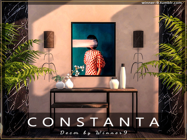 Constanta decor by Winner9 at TSR image 3815 Sims 4 Updates
