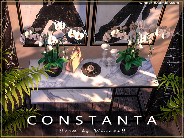 Constanta decor by Winner9 at TSR image 3916 Sims 4 Updates
