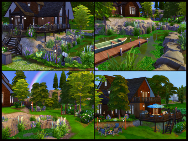On The Lake house by sparky at TSR image 4 Sims 4 Updates