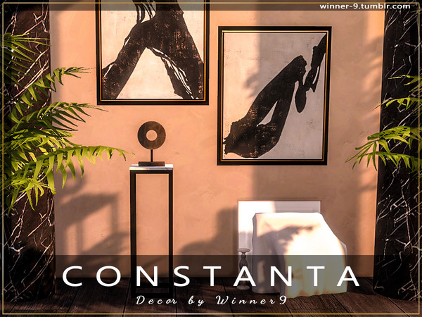 Constanta decor by Winner9 at TSR image 4016 Sims 4 Updates