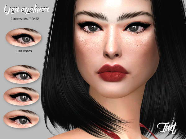 IMF Yen Eyeliner N.62 by IzzieMcFire at TSR image 4114 Sims 4 Updates