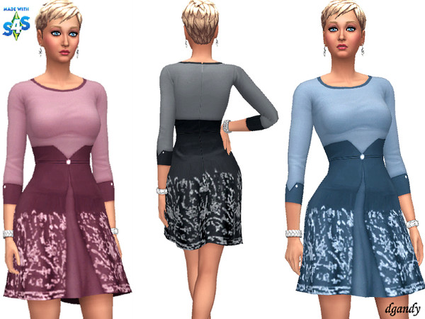Sims 4 Dress 201910 12 by dgandy at TSR