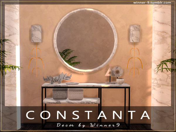 Constanta decor by Winner9 at TSR image 4120 Sims 4 Updates