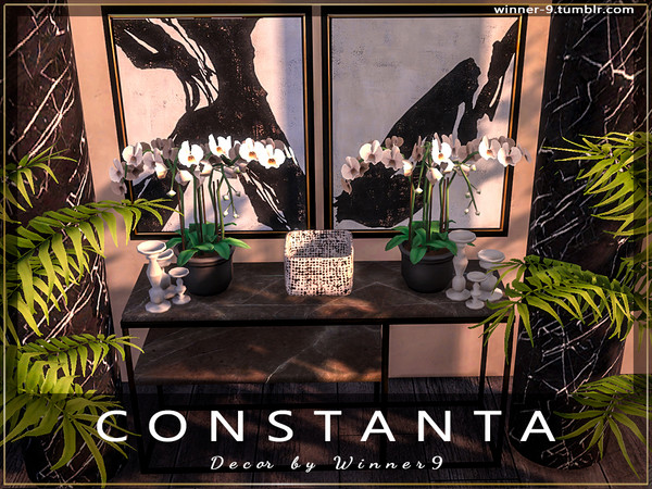 Constanta decor by Winner9 at TSR image 4218 Sims 4 Updates