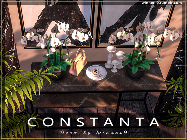 Constanta decor by Winner9 at TSR image 4316 Sims 4 Updates
