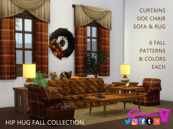 Hip Fall Collection by SimmieV at TSR image 450 Sims 4 Updates