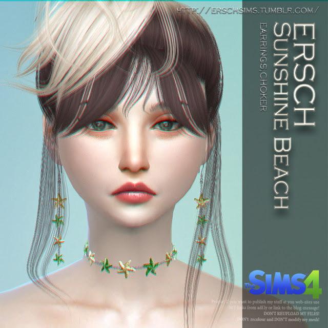 Sunshine Beach Set at ErSch Sims image 461 Sims 4 Updates