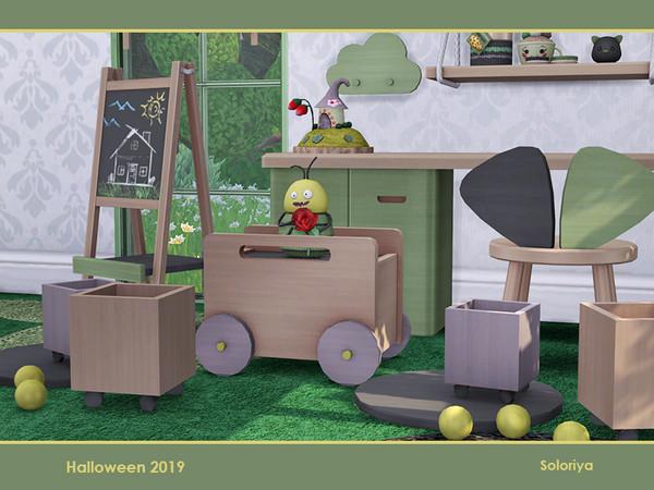 Sims 4 Gladys kidsroom by soloriya at TSR