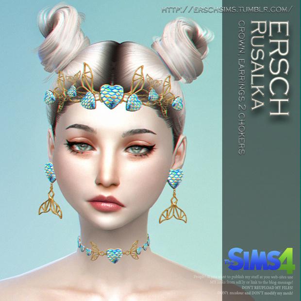 Sims 4 Rusalka Set at ErSch Sims