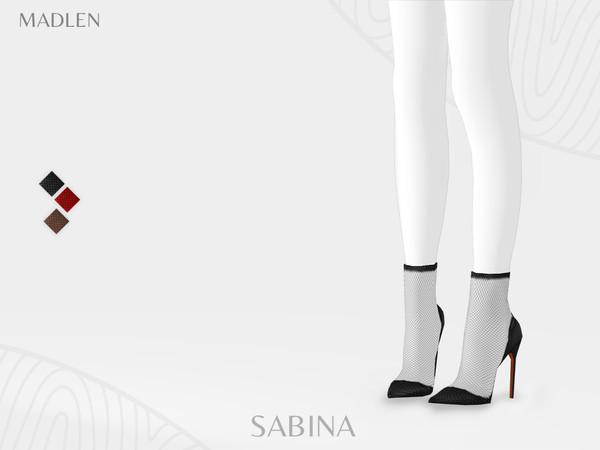 Sims 4 Madlen Sabina Boots by MJ95 at TSR